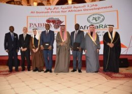 Africa Rice, Pan Africa Bean Research Alliance receive Kuwait's Al Sumait Prize