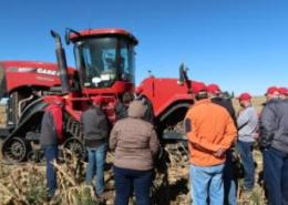 Case IH provides hands-on sales training on agricultural machinery