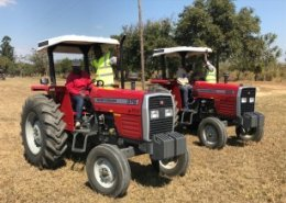 SACAU Young Agripreneurs Forum gets hands-on training at AGCO Future Farm