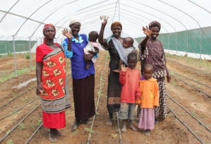 Fighting climate change effects in Kenya