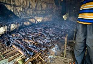 Drying Fish Congo CIFOR Flickr