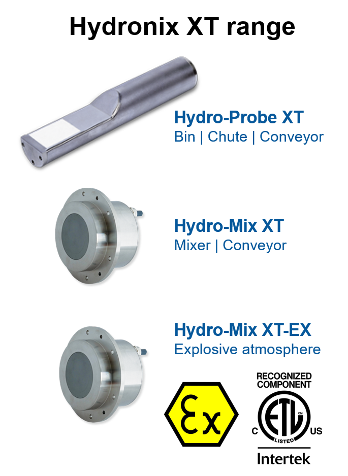 Hydronix XT range