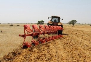 Maschio Gaspardo - micro semi-mounted plough - Senegal