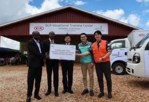 Kia opens �Green Light Project� vocational training centre in Rwanda