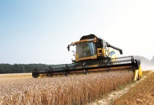 New Holland-tractor-harvester